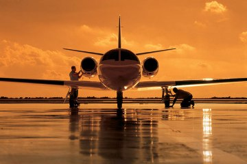 Private jet air charter safety ratings info
