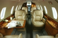 Midsize jet charter interior guide