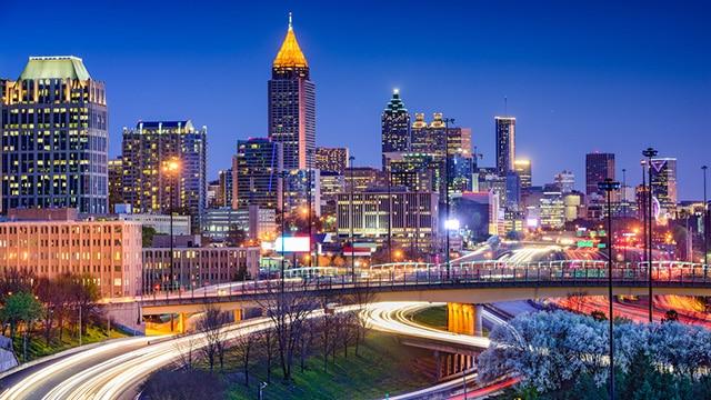 Atlanta Skyline Atlanta Air Charter